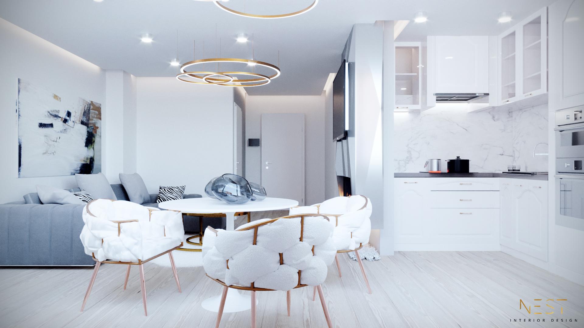 Imagine reprezentativa apartament Model 2C3