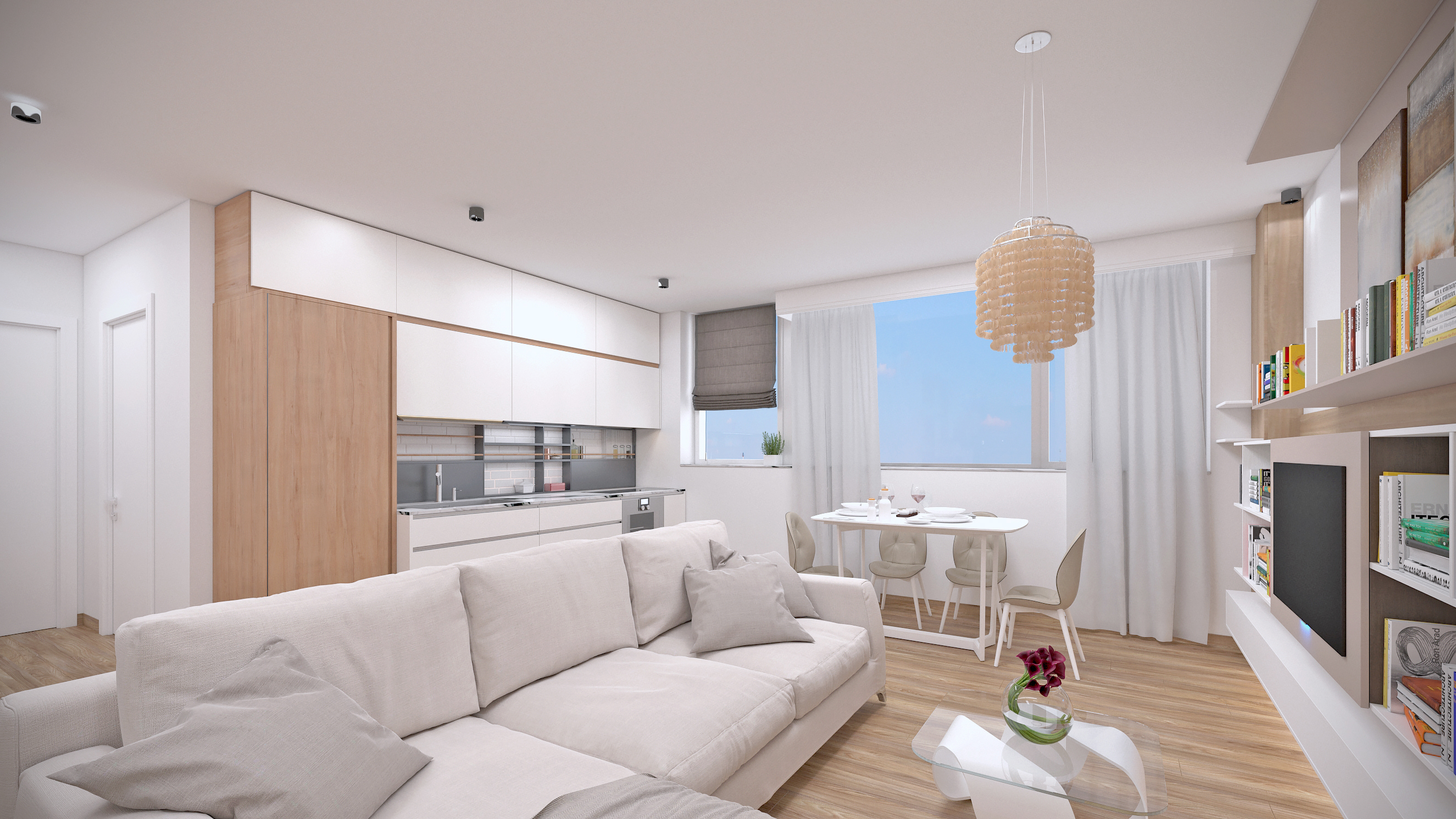 Imagine reprezentativa apartament Model 3C2
