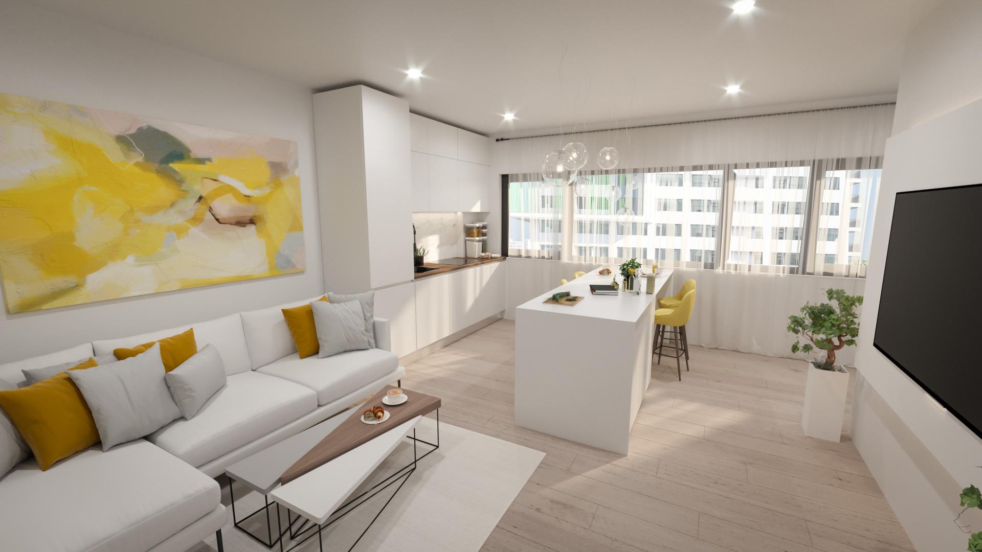Imagine reprezentativa apartament Model 1C3