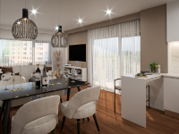 <b>Apartament 3 camere</b> <br> Între 64 și 71 mp
